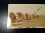 Ethel's postcard home from Bennington